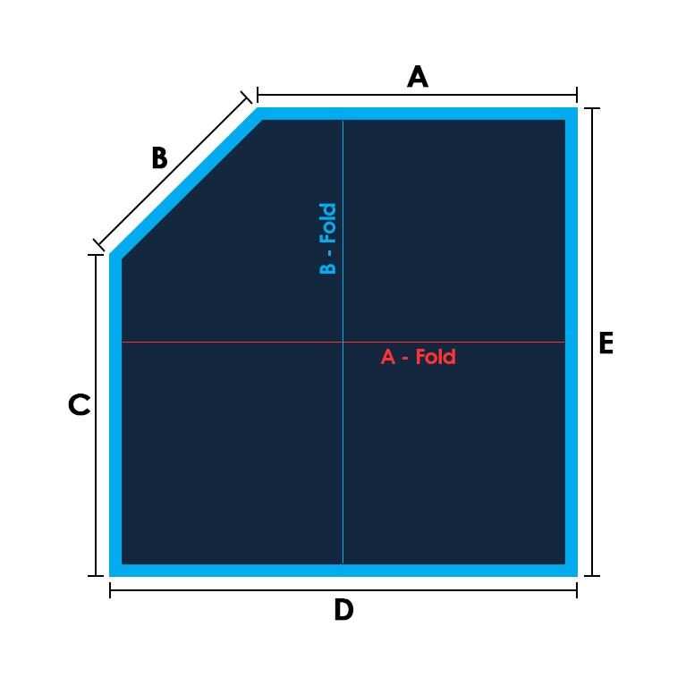 Sq/Rect-1 Cut Corner Specs