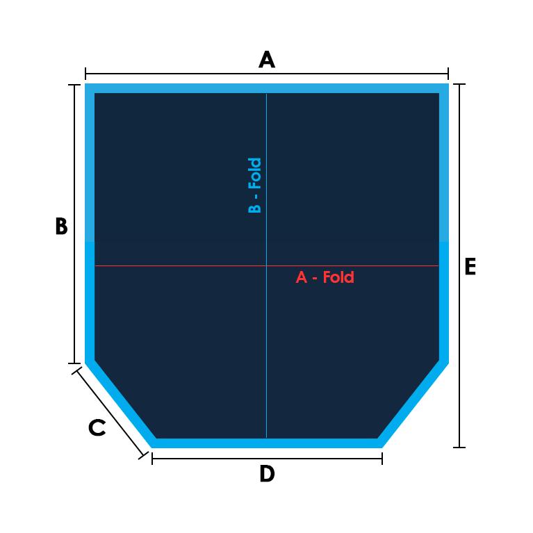 Sq/Rect-2 Cut Corners Specs
